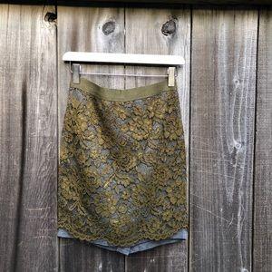 Loft   Lace Skirt   Mini Skirt